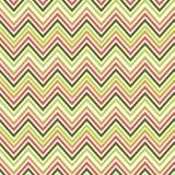 Άνευ ραφής πράσινο και πορτοκαλί σχέδιο τρεκλίσματος Το διάνυσμα επεξήγησε το αναδρομικό υπόβαθρο Σύσταση εγγράφου στρέβλωσης Στοκ Εικόνα