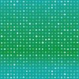 Άνευ ραφής πράσινο διανυσματικό πρότυπο με τις τυχαίες μορφές Στοκ Εικόνα