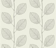 Άνευ ραφής πρότυπο από τα φύλλα απεικόνιση αποθεμάτων