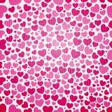 Άνευ ραφής πρότυπο καρδιών Στοκ εικόνες με δικαίωμα ελεύθερης χρήσης