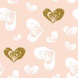 Άνευ ραφής πρότυπο καρδιών Στοκ φωτογραφίες με δικαίωμα ελεύθερης χρήσης