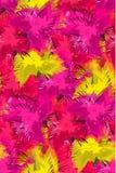 Άνευ ραφής πρότυπο με τα αφηρημένα ζωηρόχρωμα λουλούδια Στοκ φωτογραφία με δικαίωμα ελεύθερης χρήσης