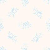 Άνευ ραφής πρότυπο με τα floral στοιχεία Στοκ εικόνα με δικαίωμα ελεύθερης χρήσης