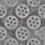 Άνευ ραφής πρότυπο πετρών Στοκ Εικόνα