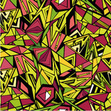 Άνευ ραφής πρότυπο τριγώνων Στοκ φωτογραφία με δικαίωμα ελεύθερης χρήσης