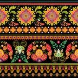 άνευ ραφής ριγωτός προτύπων ταπετσαρία έκδοσης 0 8 διαθέσιμη eps floral Στοκ Φωτογραφίες