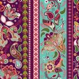 άνευ ραφής ριγωτός προτύπων ταπετσαρία έκδοσης 0 8 διαθέσιμη eps floral Στοκ εικόνες με δικαίωμα ελεύθερης χρήσης