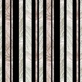 Άνευ ραφής ριγωτό ντεκόρ κατασκευασμένο με μολυβιών χρώματος κατάλληλο για τη συσκευασία σκηνικού υποβάθρου ταπετσαριών διανυσματική απεικόνιση