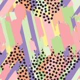 Άνευ ραφής ριγωτό χρωματισμένο υπόβαθρο επανάληψης των χρωμάτων Στοκ φωτογραφία με δικαίωμα ελεύθερης χρήσης
