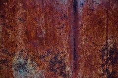 Άνευ ραφής σκουριασμένος μετάλλων υποβάθρου σύστασης μεταλλικός βρώμικος καφετής τοίχος χάλυβα σκουριάς σιδήρου παλαιός grunge στοκ φωτογραφίες