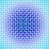 Άνευ ραφής σκούρο μπλε πορφυρός ιώδης ρόδινος τυρκουάζ λαμπρός σχεδίων ορθογωνίων διανυσματική απεικόνιση