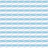 Άνευ ραφής σπειροειδές σχέδιο κυμάτων κορδελλών στο χαμηλωμένο μπλε κρητιδογραφιών διανυσματική απεικόνιση