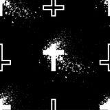 Άνευ ραφής σταυρός ταπετσαριών Στοκ φωτογραφίες με δικαίωμα ελεύθερης χρήσης