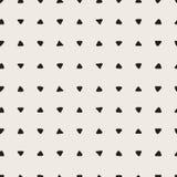 Άνευ ραφής συρμένη χέρι σύσταση τριγώνων Στοκ Φωτογραφίες