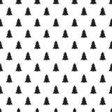Άνευ ραφής σχέδιο έτους Χριστουγέννων νέο με το χριστουγεννιάτικο δέντρο background colors holiday red yellow Χριστούγεννα η διαν Στοκ εικόνα με δικαίωμα ελεύθερης χρήσης