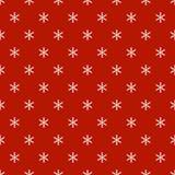 Άνευ ραφής σχέδιο έτους Χριστουγέννων νέο με snowflakes background colors holiday red yellow Snowflakes Χειμερινή καθιερώνουσα τη Στοκ εικόνα με δικαίωμα ελεύθερης χρήσης