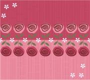 Άνευ ραφής σχέδιο ανασκόπησης λουλουδιών στο διάνυσμα Στοκ φωτογραφία με δικαίωμα ελεύθερης χρήσης