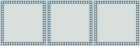 Άνευ ραφής σχέδιο λούστρου κεραμικών κεραμιδιών Διανυσματική απεικόνιση