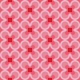 Άνευ ραφής σχέδιο με τα αφηρημένες floral στοιχεία και την κλίση χρώματος ελεύθερη απεικόνιση δικαιώματος