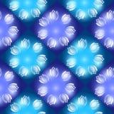 Άνευ ραφής σχέδιο με τα λαμπρά λουλούδια πρόσκληση συγχαρητηρίων καρτών ανασκόπησης Στοκ φωτογραφία με δικαίωμα ελεύθερης χρήσης