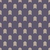 Άνευ ραφής σχέδιο με το μοτίβο βελών στοκ εικόνα με δικαίωμα ελεύθερης χρήσης