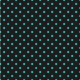 Άνευ ραφής σχέδιο σημείων Πόλκα Διαστιγμένο υπόβαθρο με τους κύκλους, σημεία, διανυσματική απεικόνιση κύκλων Στοκ εικόνες με δικαίωμα ελεύθερης χρήσης