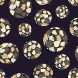 Άνευ ραφής σχέδιο σημείων Πόλκα Σύσταση σημείων 3d balls Στοκ φωτογραφίες με δικαίωμα ελεύθερης χρήσης