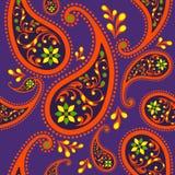 Άνευ ραφής σχέδιο στο υπόβαθρο χρώματος εγγράφου Στοκ Εικόνα