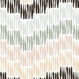 Άνευ ραφής σχέδιο τα στοιχεία που εκτελούνται με στο μελάνι Γραμμές, λωρίδες Σύσταση για το σχέδιό σας Υπόβαθρο συρμένο χέρι Στοκ Εικόνα
