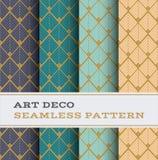 Άνευ ραφής σχέδιο 41 του Art Deco Απεικόνιση αποθεμάτων