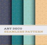 Άνευ ραφής σχέδιο 48 του Art Deco Στοκ φωτογραφία με δικαίωμα ελεύθερης χρήσης