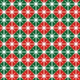 Άνευ ραφής σχέδιο τυλίγοντας εγγράφου Χριστουγέννων διανυσματική απεικόνιση