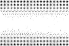 Άνευ ραφής σχέδιο των αστεριών και των γεωμετρικών μορφών στα γκρίζα χρώματα στο άσπρο υπόβαθρο, γραπτό χρώμα Επίπεδο διανυσματικ διανυσματική απεικόνιση