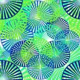 Άνευ ραφής σχέδιο των γεωμετρικών στοιχείων διανυσματική απεικόνιση