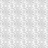 Άνευ ραφής σχέδιο των γραμμών κυμάτων ανασκόπηση γεωμετρική Ελεύθερη απεικόνιση δικαιώματος