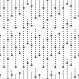 Άνευ ραφής σχέδιο των σημείων Γεωμετρικό διαστιγμένο υπόβαθρο Ελεύθερη απεικόνιση δικαιώματος