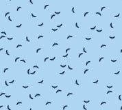 Άνευ ραφής σχέδιο υφάσματος σχεδίων Flyes Απεικόνιση αποθεμάτων