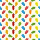 Άνευ ραφής σχέδιο φθινοπώρου με το φύλλο, υπόβαθρο φύλλων φθινοπώρου Διανυσματική ανασκόπηση φωτεινό πρότυπο Πρότυπο φθινοπώρου Σ Στοκ εικόνες με δικαίωμα ελεύθερης χρήσης