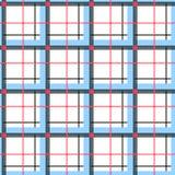Άνευ ραφής σχέδιο ύφους κλουβιών διανυσματική απεικόνιση