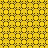 Άνευ ραφής σχέδιο emoji Διανυσματική απεικόνιση