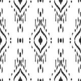Άνευ ραφής σχέδιο Ikat διαθέσιμη eps ανασκόπησης 0 8 διανυσματική ταπετσαρία έκδοσης Στοκ φωτογραφία με δικαίωμα ελεύθερης χρήσης