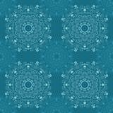 Άνευ ραφής σχέδια με τις γεωμετρικές διακοσμήσεις mandala διακοσμητικός τρύγος στ&o Συρμένο χέρι υπόβαθρο κεραμιδιών ελεύθερη απεικόνιση δικαιώματος