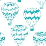 Άνευ ραφής σχέδιο έννοιας καλοκαιριού στο ύφος doodle Στοκ Εικόνες