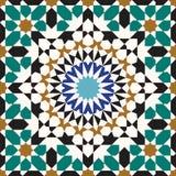 Άνευ ραφής σχέδιο έξι Zufar Στοκ εικόνες με δικαίωμα ελεύθερης χρήσης
