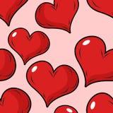 Άνευ ραφής σχέδιο αγάπης για την ημέρα βαλεντίνων Υπόβαθρο για τις διακοπές Στοκ φωτογραφίες με δικαίωμα ελεύθερης χρήσης