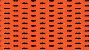 Άνευ ραφής σχέδιο αποκριών με το μαύρο ρόπαλο Στοκ εικόνα με δικαίωμα ελεύθερης χρήσης