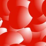 Άνευ ραφής σχέδιο από τα ροδαλά πέταλα Στοκ Εικόνες