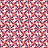 Άνευ ραφής σχέδιο, από τη διαφορετική γεωμετρική μορφή Στοκ Εικόνα
