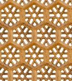 Άνευ ραφής σχέδιο. Αρχαία παραδοσιακή διακόσμηση - καφετής ψαμμίτης Στοκ φωτογραφία με δικαίωμα ελεύθερης χρήσης
