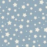 Άνευ ραφής σχέδιο αστεριών Στοκ εικόνες με δικαίωμα ελεύθερης χρήσης